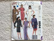 Sewing Pattern (Uncut) McCalls 8884 (Size 12 /34). North Beach Stirling Area Preview