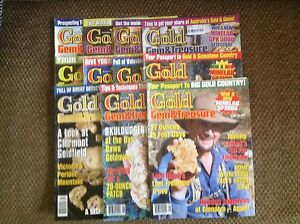 GOLD, GEM & TREASURE Magazines, in VICTORIA , WANTED to BUY Darley Moorabool Area Preview