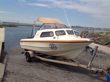 Boat swiftcraft seagull  5mtr fishing boat Melbourne CBD Melbourne City Preview