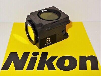 Nikon B Blue Fluorescent Microscope Filter Cube E400 600 Te200300