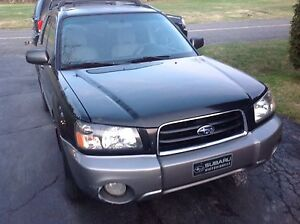 Subaru Forester. XS. 2003.  2.5 Litres