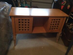 Buffet table sold wood