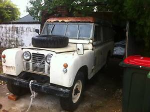 1965 Land Rover (4X4) Panel Van for spares or brave restoration Pallarenda Townsville City Preview
