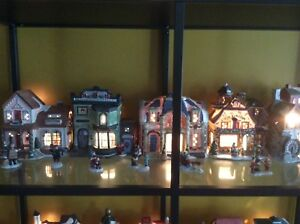 ASSORTED CHRISTMAS VILLAGES HOUSE COLLECTIONS