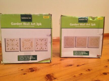 Garden wall plaques - 2 Packs Revesby Bankstown Area Preview