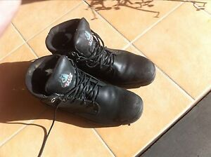 Size 14 steel blue steel cap boots Coopers Plains Brisbane South West Preview