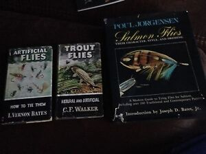 Vintage fly tying books