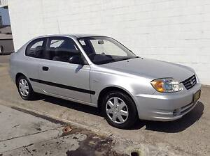 2003 Hyundai Accent GL 5 SPEED VERY LOW KLMS FEB-REGO HATCH Kirrawee Sutherland Area Preview
