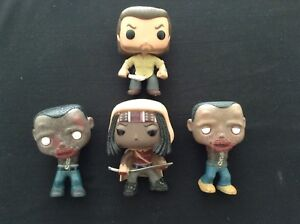POP Funko Walking Dead Characters (No Boxes)