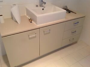 Bathroom vanity with basin and tap, 1400 x 450 x 850mm Breakfast Point Canada Bay Area Preview