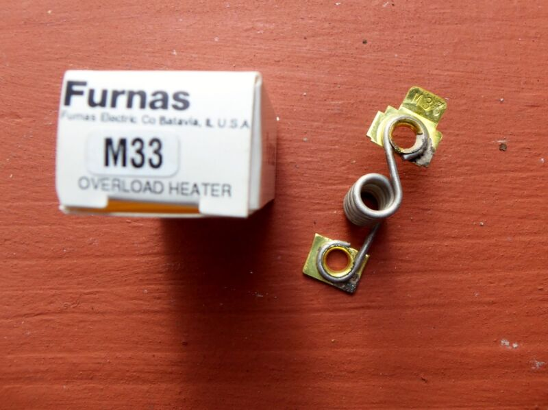 Furnas Siemens M33 Thermal Overload Relay Heater Element NEW