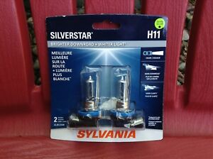Sylvania Silverstar H11 High Performance Replacement Bulbs