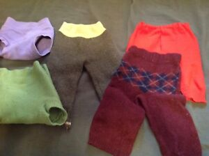 wool longies and soakers, size 2T and 3T