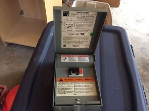 Federal Pioneer 50 Amp Gfci Breaker and box