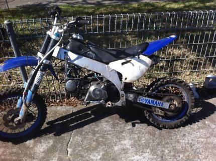 motor bike/trail bike/dirt bike/pit bike/thumpstar 125cc not