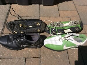 Men's size 11 green Nike golf shoes only $20