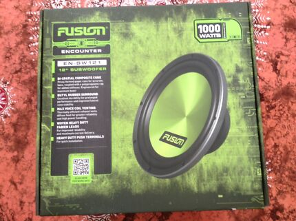"""Fusion 12"""" Subwoofer Brand new unwanted gift"""