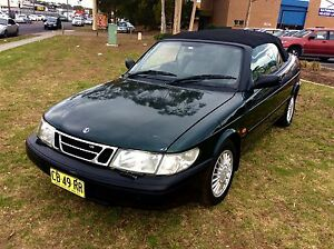 1995 Saab 900 Convertible V6 SE Low KM' 3 months Rego Woodbine Campbelltown Area Preview