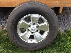 Tacoma mags 17 inch with tires.
