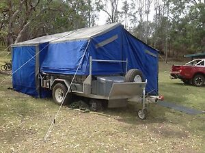 Off Road Castaway Camper trailer with extra space The Range Rockhampton City Preview