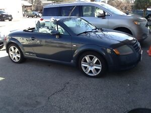 2004 AUDII TT ROADSTER CONVERTIBLE  AUTOMATIC.