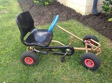 Child's outdoor pedal kart with metal frame go kart with chain Tapping Wanneroo Area Preview