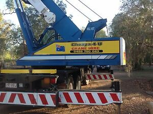 Cheapa 4 U Crane Hire Pty Ltd Hervey Range Charters Towers Area Preview