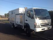 Mitsubishi canter truck and Northstar slide on Camper Morwell Latrobe Valley Preview
