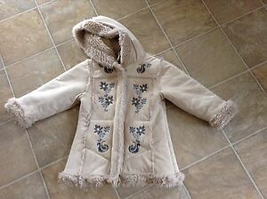 Manteau tuque mitaines 3 ans