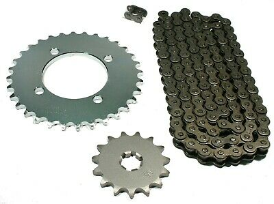 Yamaha PW80, 1983 1984 1985 1986, Chain and 15/32 Sprocket Set - PW 80