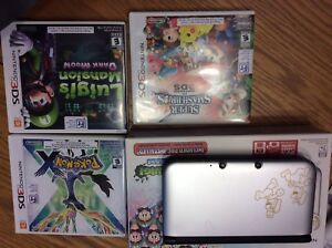 3DS XL and 3 games