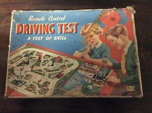 Remote control driving test 1950s game Gawler Gawler Area Preview