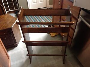 "Vintage shelf or rack  2 ft wide x 35"" tall"