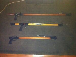 3 X HARDWOOD TIMBER SPEARGUNS AS PER PHOTOS Manly Manly Area Preview