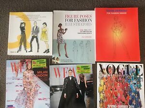 Fashion books and magazines bulk buy Mosman Mosman Area Preview