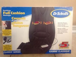 Dr. Scholls  Soothing Full Massage Cushion Back Massager