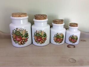 Kitchen Canisters, Set of 4!  Price: $2