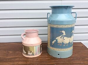 Decorative Milk and Cream Cans