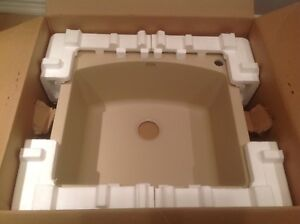 Brand new biscotti Blanco sink