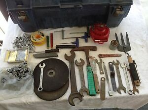 Assorted Tools &  used IRWIN. Toolbox. Archerfield Brisbane South West Preview