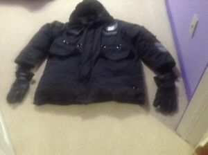 CANADA GOOSE  WINTER  COAT AND  GLOVES