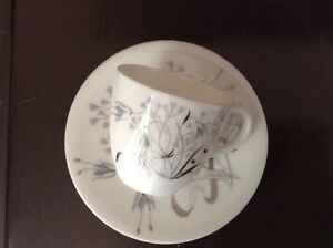Vintage Wedgwood Demi Cup and Saucer