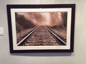 Railroad Framed Picture