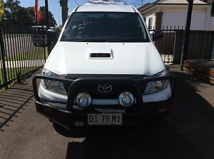 2010 Toyota Hilux SR 4x4 Turbo diesel dual cab Ute Sandgate Newcastle Area Preview