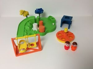Fisher Price vintage Little People Playground set
