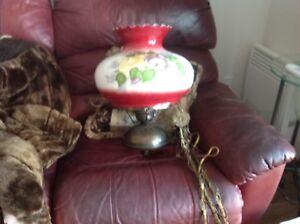 Lampe colonial suspendue