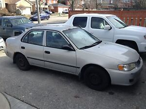 2002 TOYOTA COROLLA IN GREAT CONDITION NEED GONE ASAP