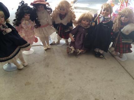 Porcelain dolls- over 20 years old minimum Secret Harbour Rockingham Area Preview
