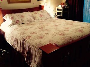 Queen size bed mattress not included Echuca Campaspe Area Preview