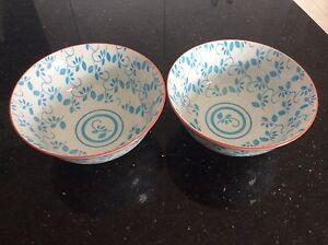 2 bowls - beautiful design Colyton Penrith Area Preview